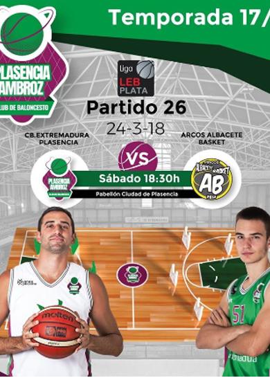 Extremadura Plasencia - Arcos Albacete Basket