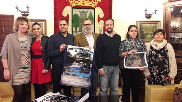 Marchas solidarias en La Pesga a favor de AUNEX
