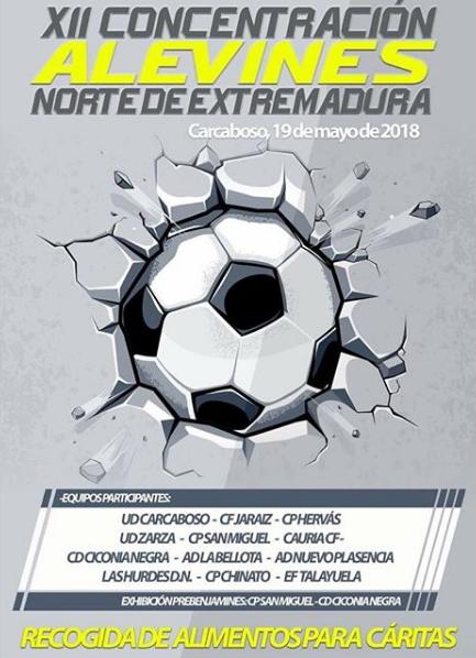 XII Concentración Alevines Norte de Extremadura