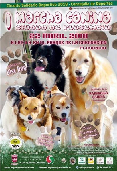 I Marcha Canina Ciudad de Plasencia