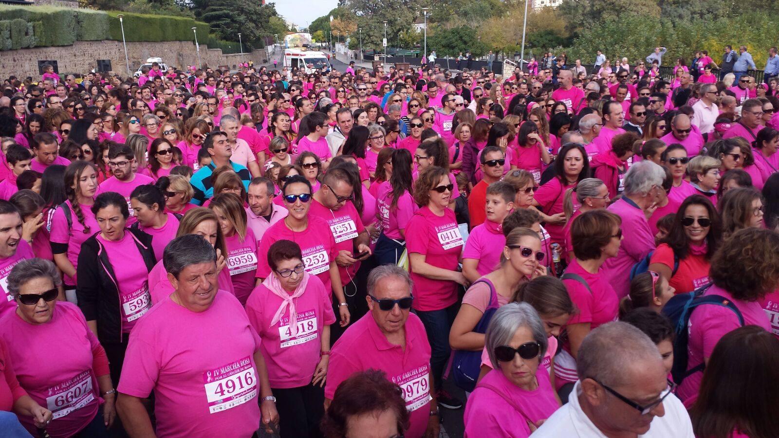 VI edición de la Marcha Rosa