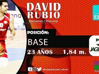 David Rubio Miras nuevo jugador del Adepla Basket