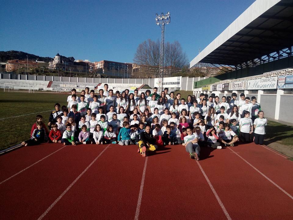 Escuela de Atletismo de Plasencia 2016