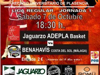 Jaguarzo Adepla Basket peca de novato en su debut (64-72)