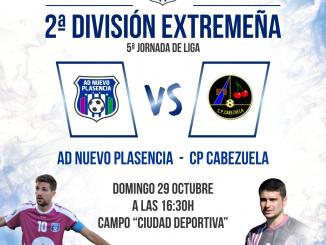 Jornada 5 - Nuevo Plasencia vs CP Cabezuela