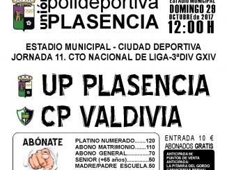 Jornada 11 | UP Plasencia recibe al CP Valdivia domingo a las 12:00 horas