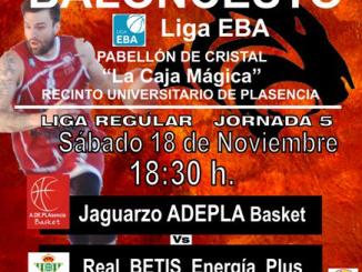 Adepla Basket EBA vs Real Betis Energía Plus