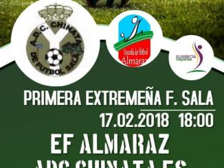 Chinata Esencia saca un meritorio punto en Almaraz (3-3)