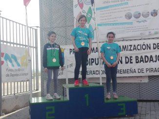 El Club de Piragüismo Río Jerte de Plasencia triunfa con 8 medallas en los JUDEX