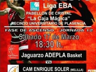 Jaguarzo Adepla Basket - CAM Enrique Soler