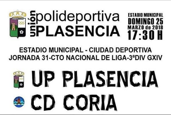 UP Plasencia-CD Coria: una 'final' de tres puntos