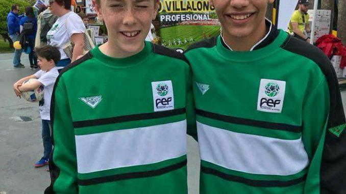 Los canteranos de la UP Plasencia Yago y Raúl, semifinalistas con Extremadura en el Campeonato de España Sub-12