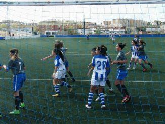 El Sporting Club de Huelva B plasmó su pegada ante el CP San Miguel Plasencia (3-0)