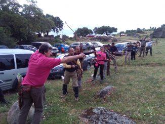 Plasencia acogió el XVII Campeonato de Extremadura de Recorridos de Caza con Arco