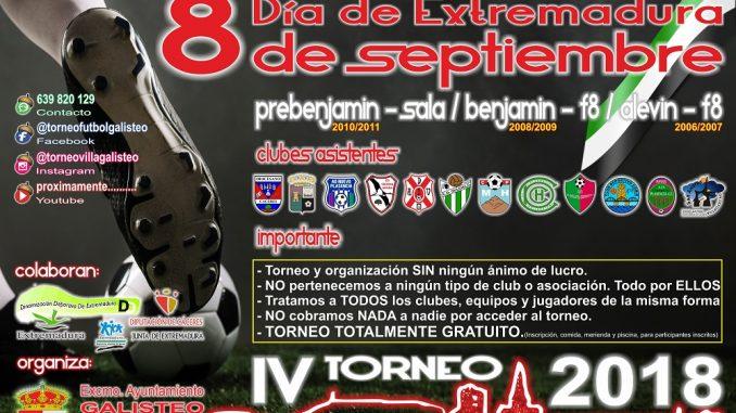 Cuarta edición del Torneo de Fútbol Base Villa de Galisteo