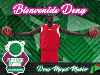 Deng Mayot Mabior, la torre sudanesa ficha por el Extremadura Plasencia CB