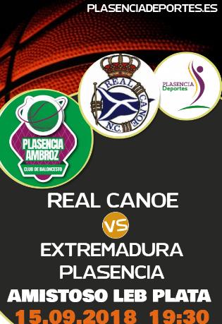 Real Canoe - Extremadura Plasencia