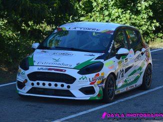 Entrevista al chinato Miguel Grande piloto del Extremadura Rallye Team