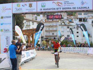 El placentino Pedro Romero se pone líder del Open de España XC Maratón tras ganar hoy en IX Maratón BTT Sierra de Cazorla