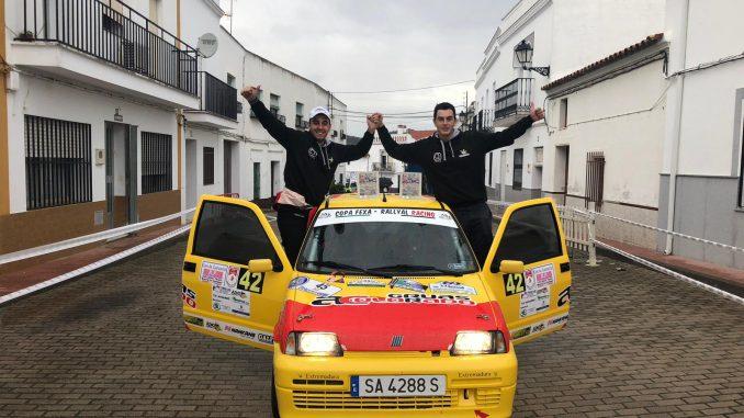 Victor Colorado y Rafael Martín campeones de la Copa FEXA RalyAl
