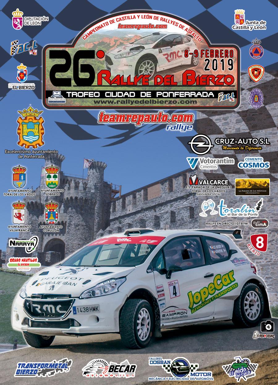 El placentino Paco Montes y David Collado comienzan la temporada en el 26º Rallye del Bierzo