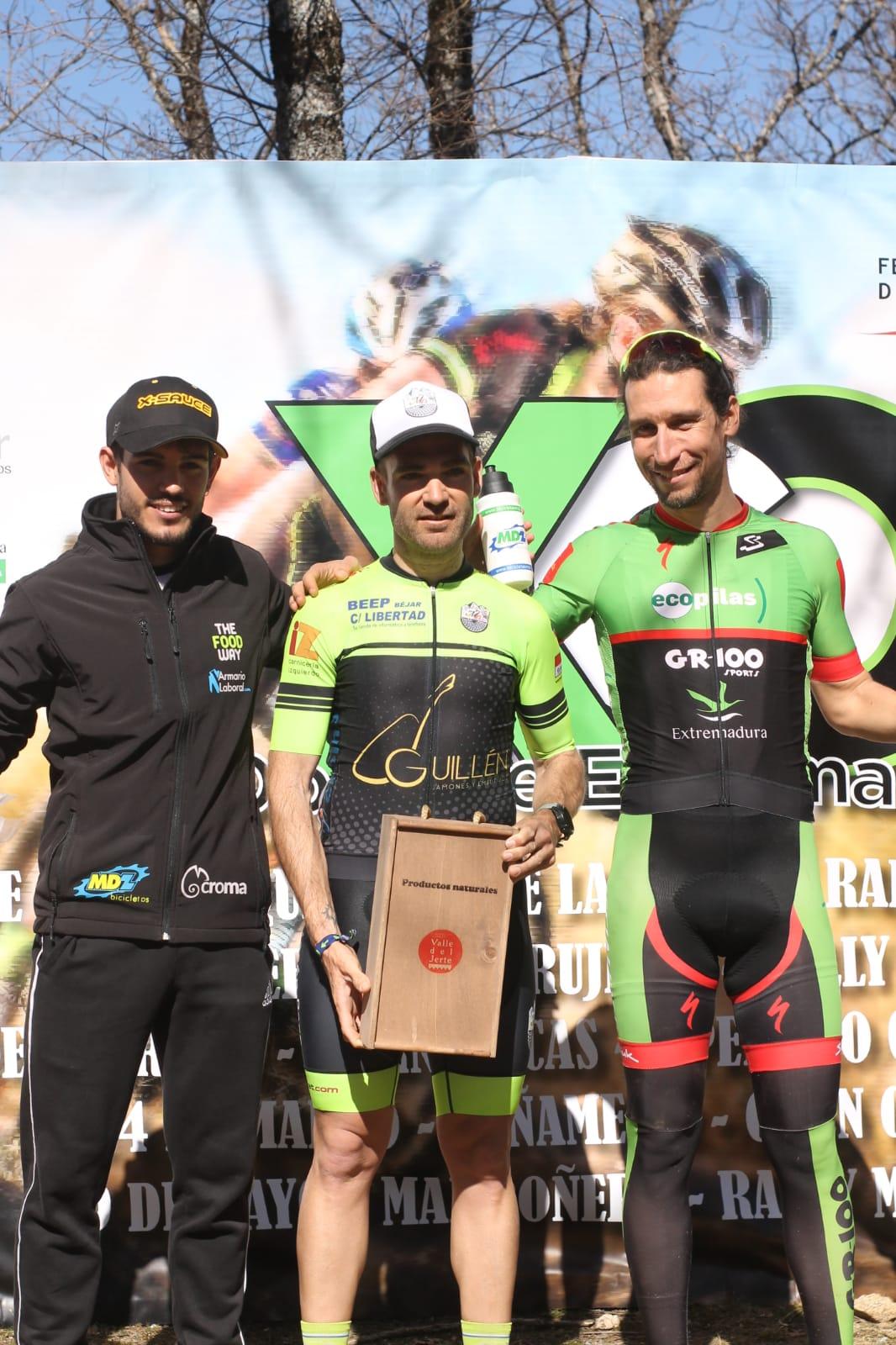 Pedro Romero segundo en la categoría élite en la tercera prueba del Open de Extremadura XCO en Tornavacas