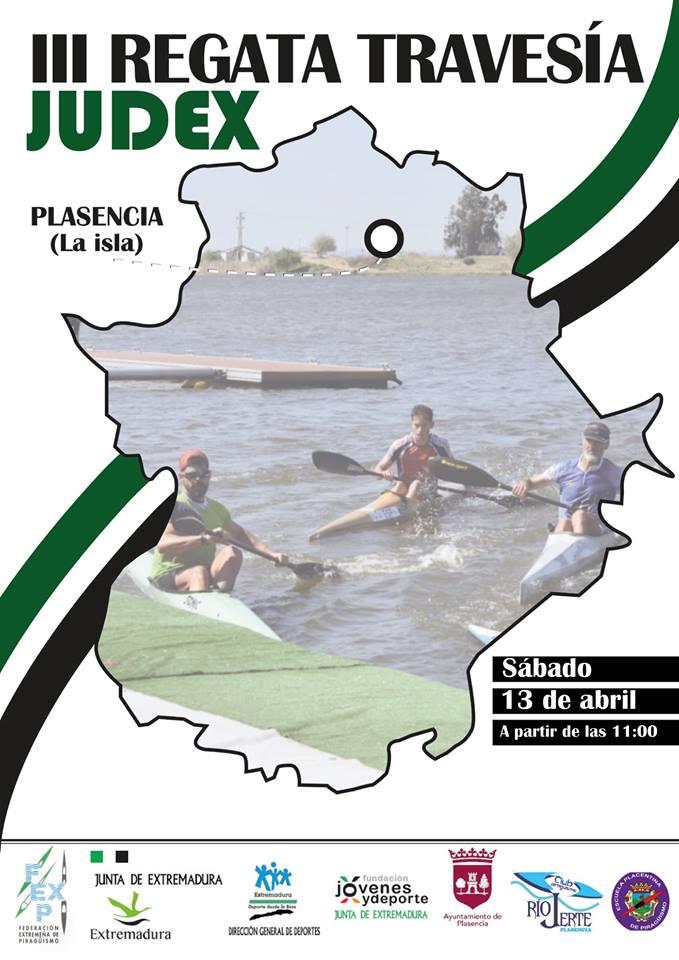 Plasencia acogerá mañana la III Regata Judex de Piragüismo