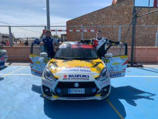 Sexta plaza de Colorado y Quijada Rallye Feria-Fuente del Maestre