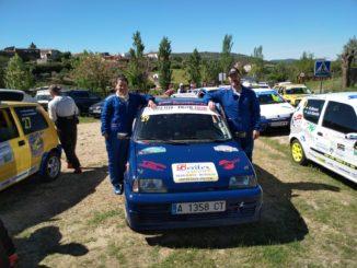 Mordillo y Hernández triunfan en Campanario en la Copa FEXA-RallyAl