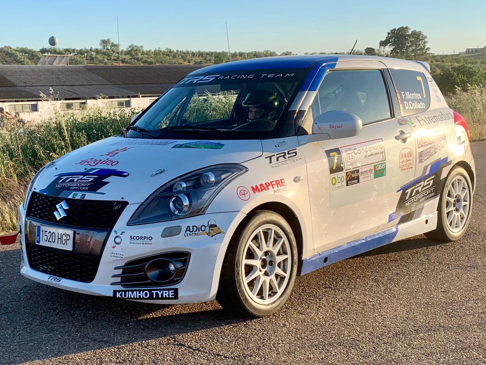 Montes y Collado debutan en la Copa Suzuki Swift en Ourense